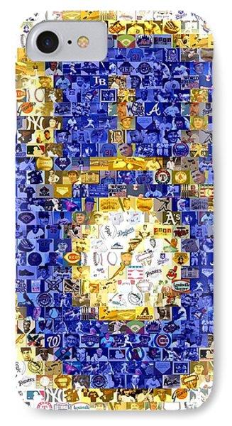 Milwaukee Brewers Mosaic IPhone Case