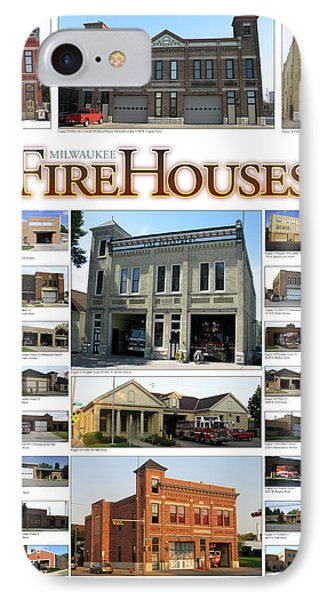 Milwaukee Fire Houses IPhone Case