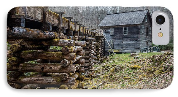 Mingus Millrace And Mill In Late Winter IPhone Case