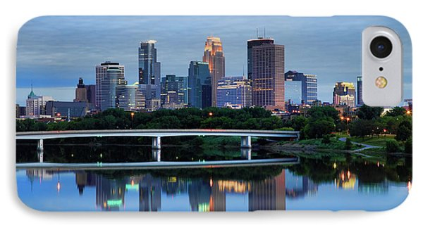 Minneapolis Reflections IPhone Case