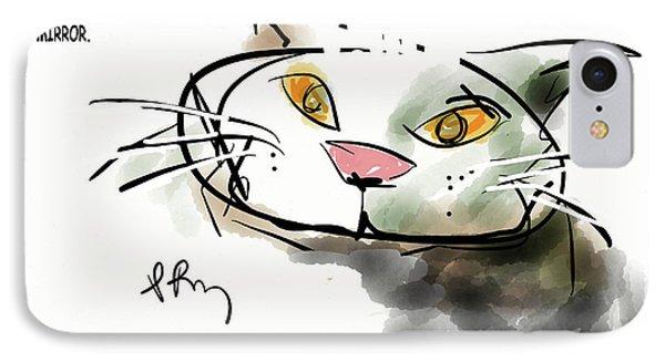 Mirror Cat IPhone Case