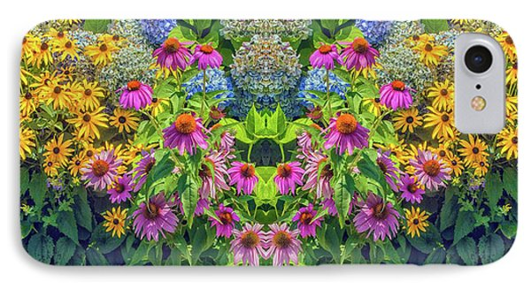 Flowers Pareidolia IPhone Case