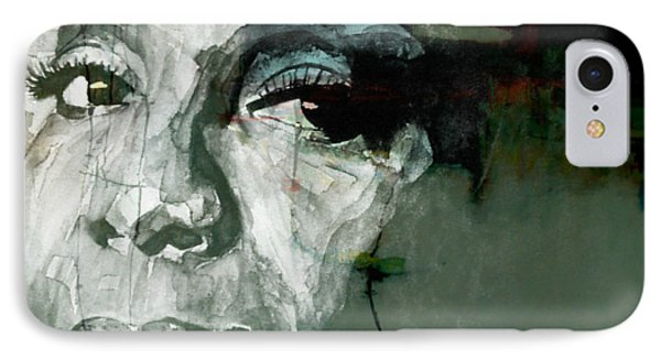 Rhythm And Blues iPhone 8 Case - Mississippi Goddam by Paul Lovering