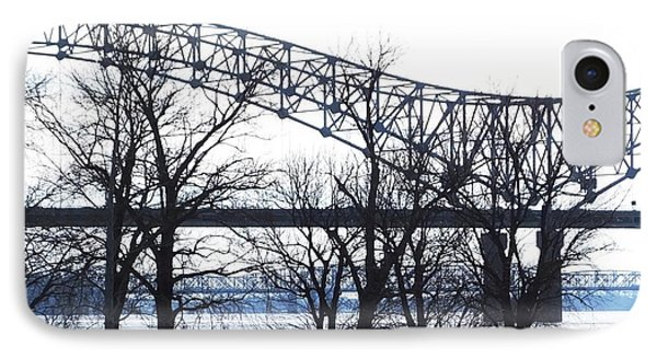Mississippi River At Memphis January High Water IPhone Case