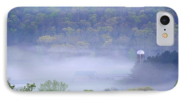 Mist In The Valley IPhone Case