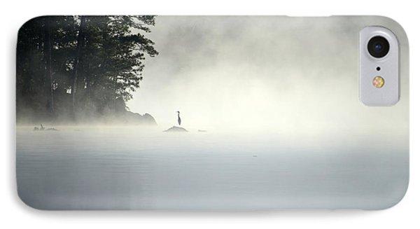 Misty Heron IPhone Case