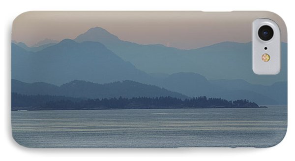 Misty Hills On The Strait IPhone Case
