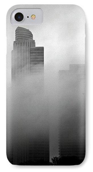 Misty Morning Flight IPhone Case