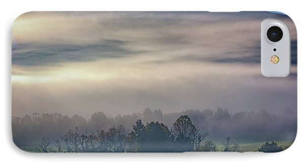 Misty Morning In Cades Cove IPhone Case
