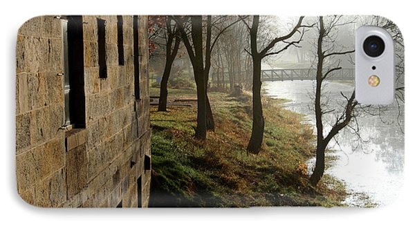 Misty Morning On The Illinois Michigan Canal  IPhone Case
