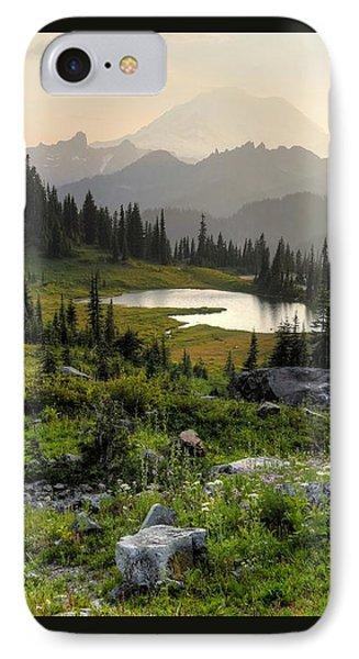 Misty Mountain Landscape IPhone Case
