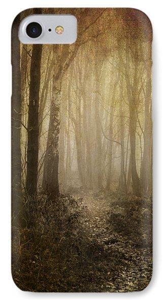 Misty Woodland Path IPhone Case