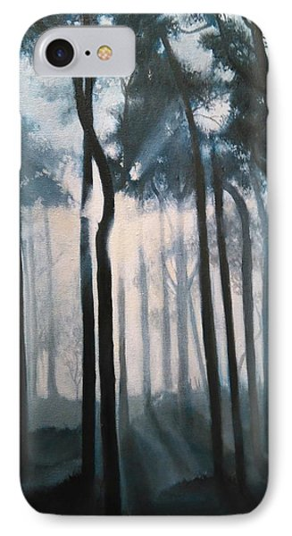 Misty Woods IPhone Case