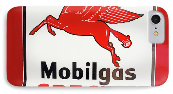 Mobilgas Vintage 82716 IPhone Case