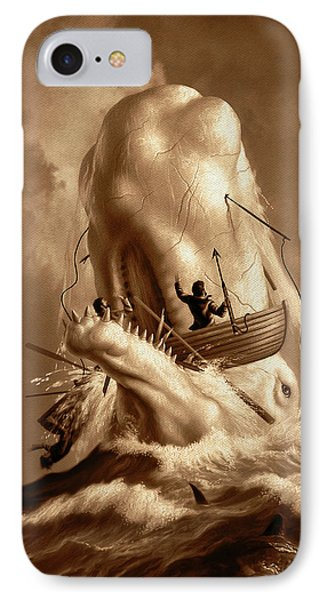 Moby Dick 2 IPhone Case
