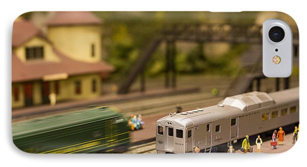 Model Trains IPhone Case