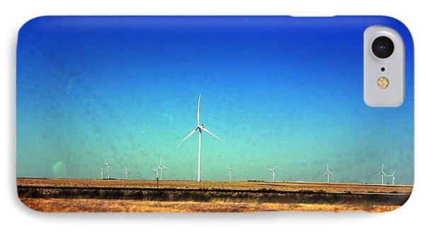 Modern Wind Mills IPhone Case