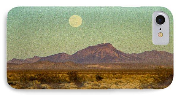 Mohave Desert Moon IPhone Case