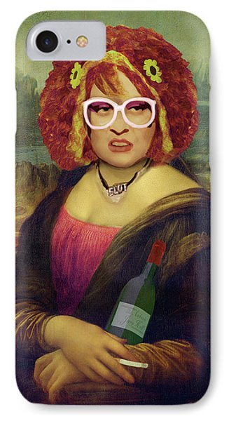 Mona Linda - Aka The Auburn Jerry Hall - Gawjuss And Vile IPhone Case