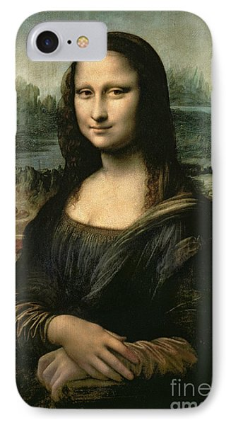 Portraits iPhone 8 Case - Mona Lisa by Leonardo da Vinci