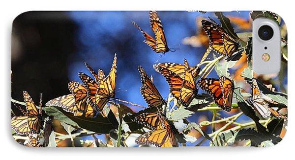 Monarch Active Cluster IPhone Case