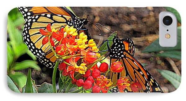 Monarch Handshake IPhone Case