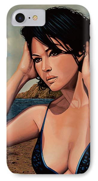 Monica Bellucci 2 IPhone Case