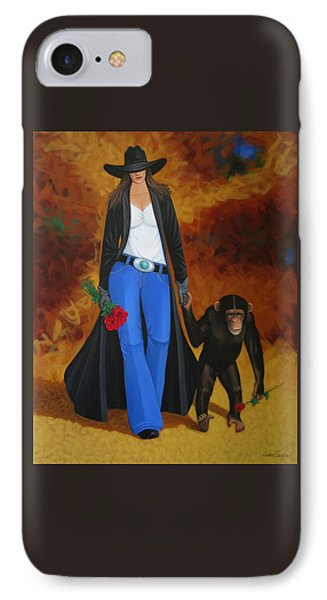 Monkeys Best Friend IPhone Case