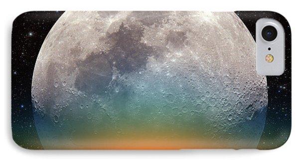 Monster Moonrise IPhone Case