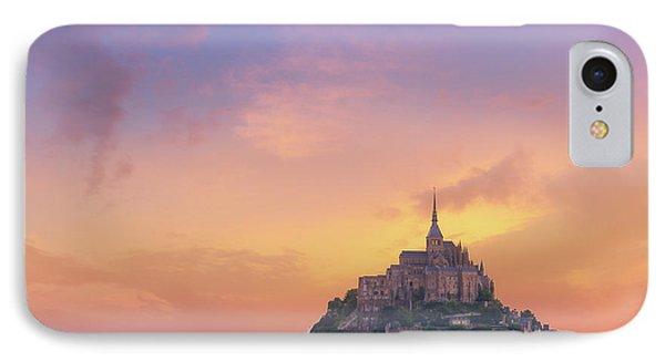 Mont-saint-michel At Dawn IPhone Case