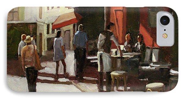 Montmarte Cafe IPhone Case