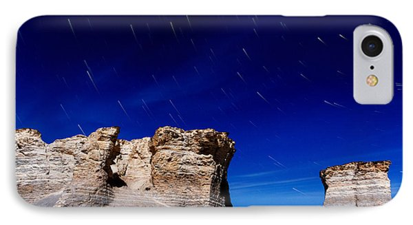 Monument Rocks Moonlight IPhone Case