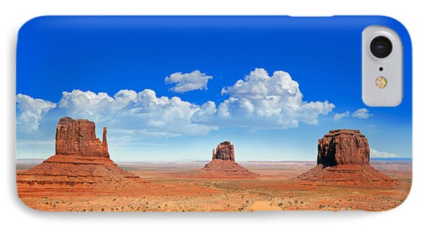 Desert iPhone 8 Case - Monument Vally Buttes by Jane Rix