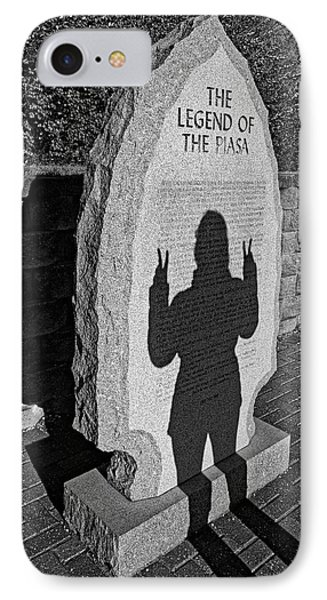 Monumental Shadows Peace Out IPhone Case