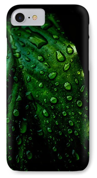 Moody Raindrops IPhone Case