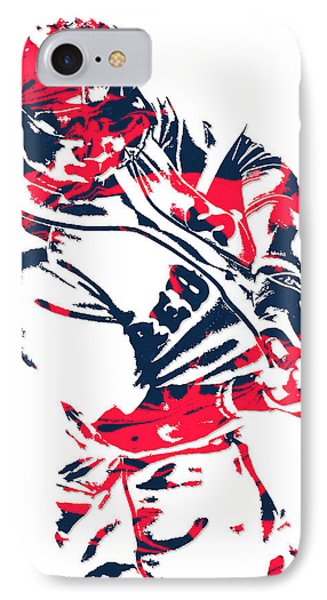 Mookie Betts Boston Red Sox Pixel Art 3 IPhone Case