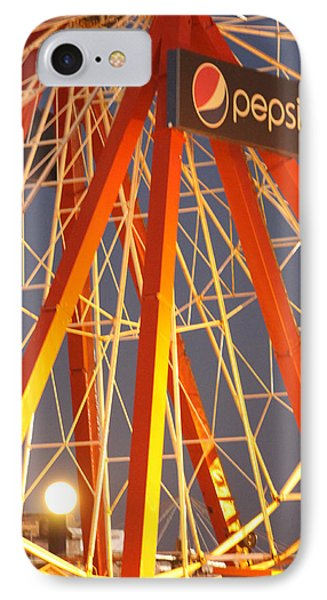 Moon And The Ferris Wheel IPhone Case
