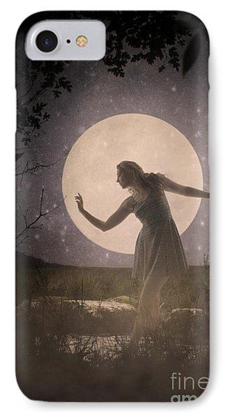 Moon Dance 001 IPhone Case