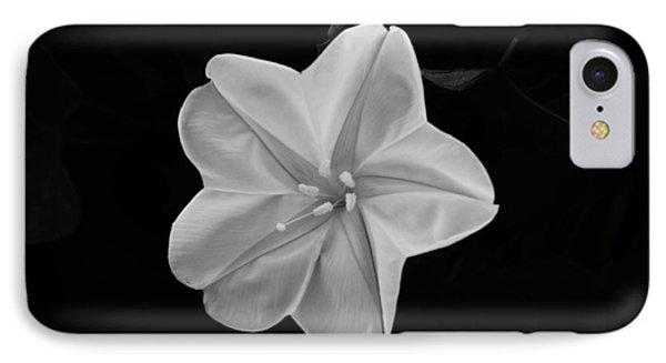 Moon Flower IPhone Case