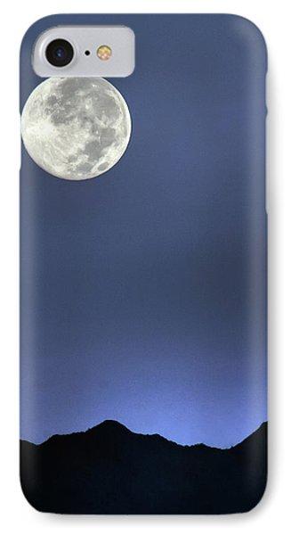 Moon Over Ko'olau IPhone Case
