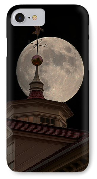 Moon Over Mount Vernon IPhone Case