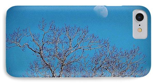 Moon Over Tree IPhone Case