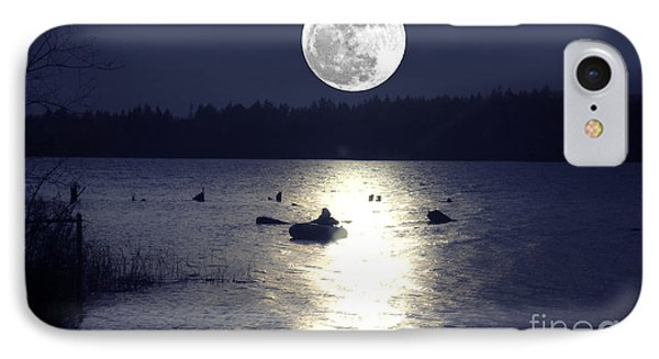 Moonlight Row IPhone Case