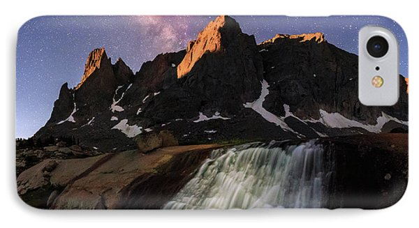 Moonrise At Cirque Of The Towers. IPhone Case