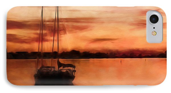Moored For The Night IPhone Case