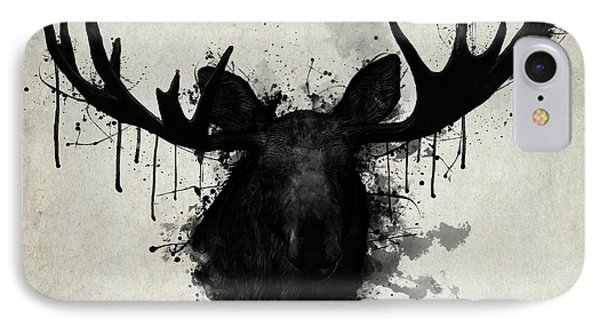 Bull iPhone 8 Case - Moose by Nicklas Gustafsson