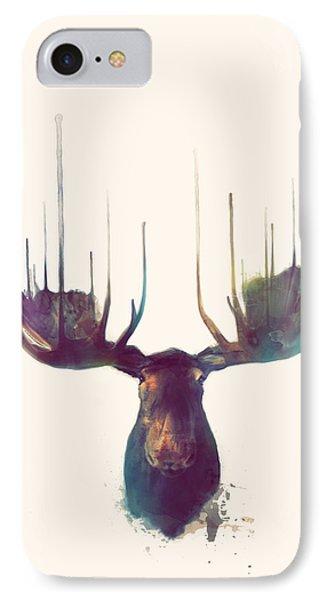 Moose // Squared Format IPhone Case