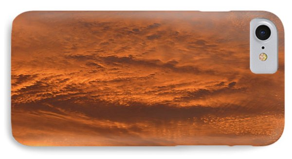 IPhone Case featuring the photograph Morning Flame by Mark Blauhoefer