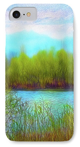 Morning Lake In Stillness IPhone Case
