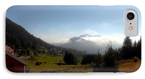 Morning Mist In The Magical Valley IPhone Case